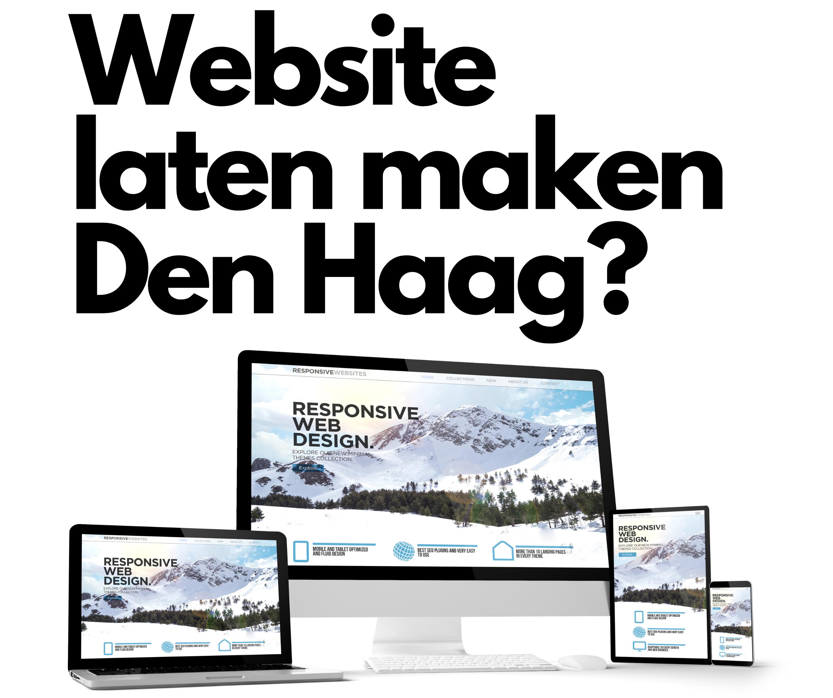 Website laten maken Den Haag